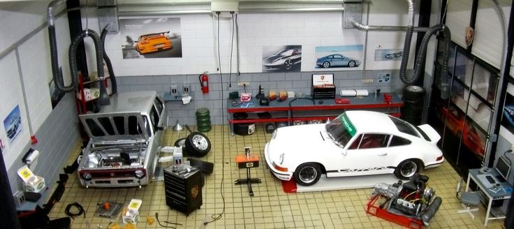 1000 Images About Dioramas On Pinterest Garage Accessories Models And Miniature