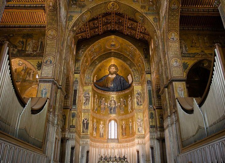 Mosaici dell'abside del Duomo di Monreale – Carlo Columba