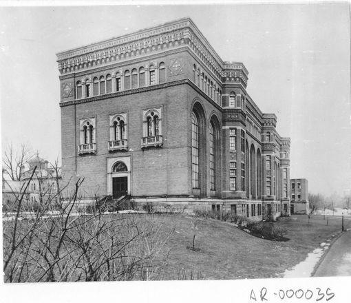 Original ROM building, 1914 195-233 Bloor St W, Toronto,