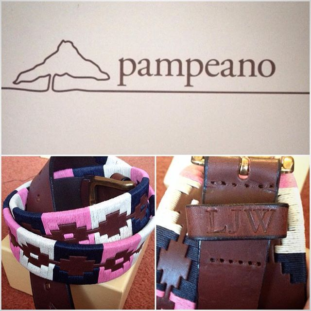 Lara-Jane Wilson @larajaneee Abz #spoiled with my personalised 'Dulce' #pampeano #polobelt!...Instagram photo | Websta (Webstagram)