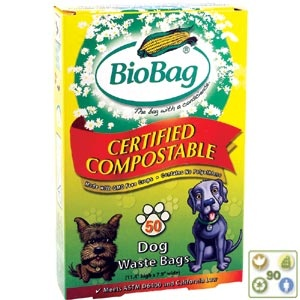 BioBags are a good way to reduce your plastic consumption - 100% Biodegradable - We carry the biggest selection of BioBags - $4.80