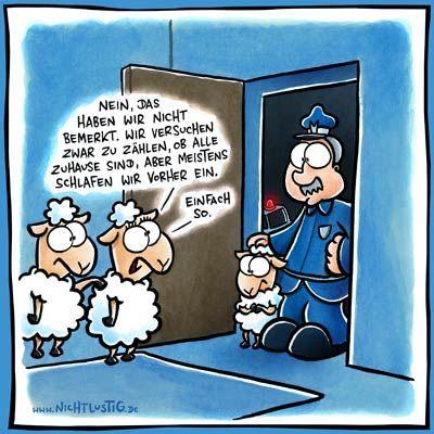 Einfach so. | #fun #nichtlustig #comics #schaf
