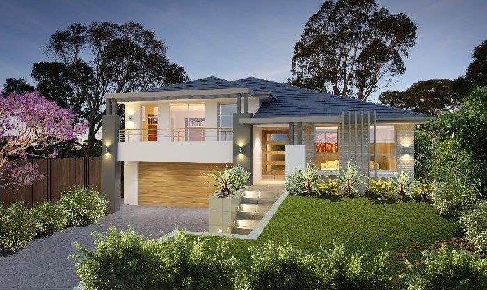 Split Level House Designs Nsw Split Level House Plans Split Level House Exterior Facade House