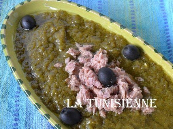 Slata mechouia – Salade tunisienne de légumes grillés