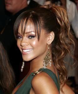 Rihanna Ponytail