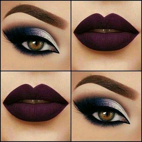 Imagem de lips, makeup, and eyes