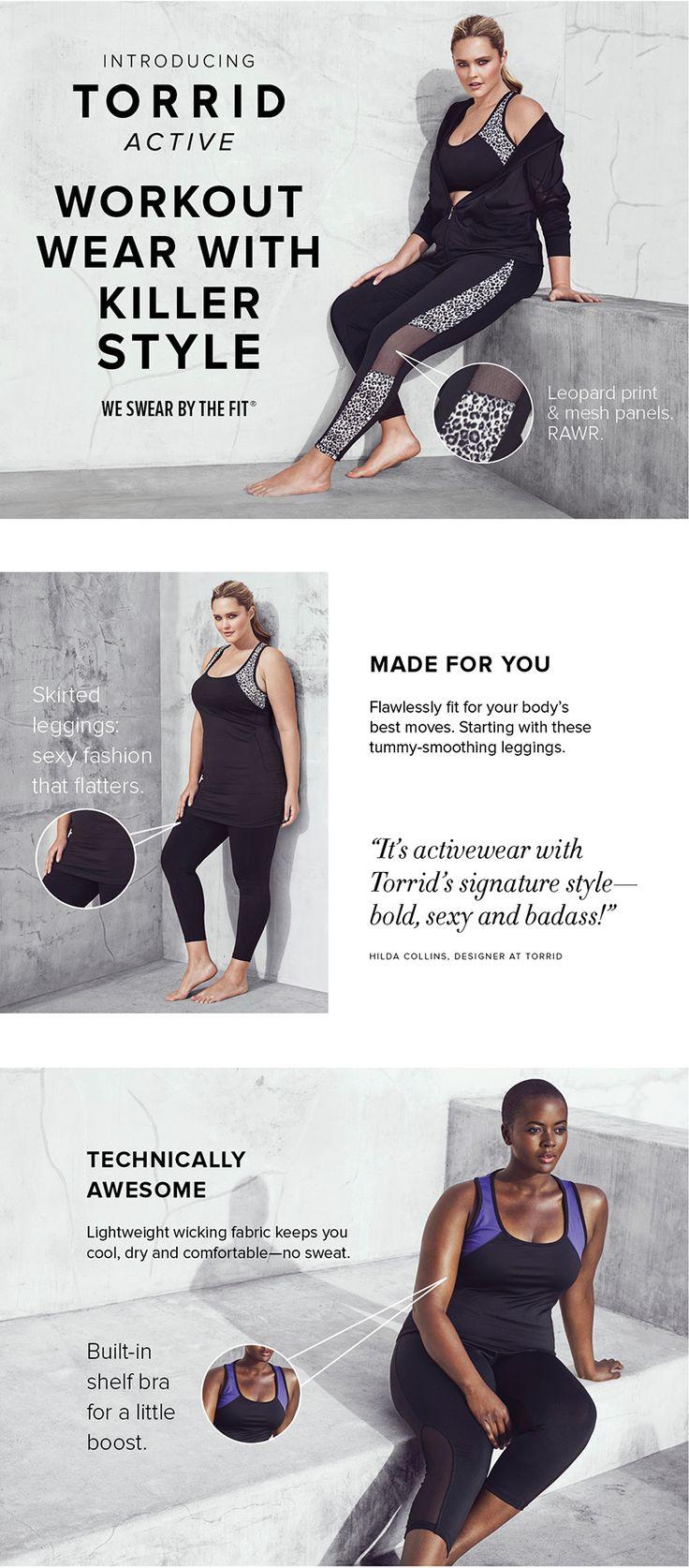Plus Size Workout Clothes & Activewear   Torrid