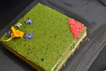 Matcha Opera Gateau (Green Tea Layer Cake) Recipe