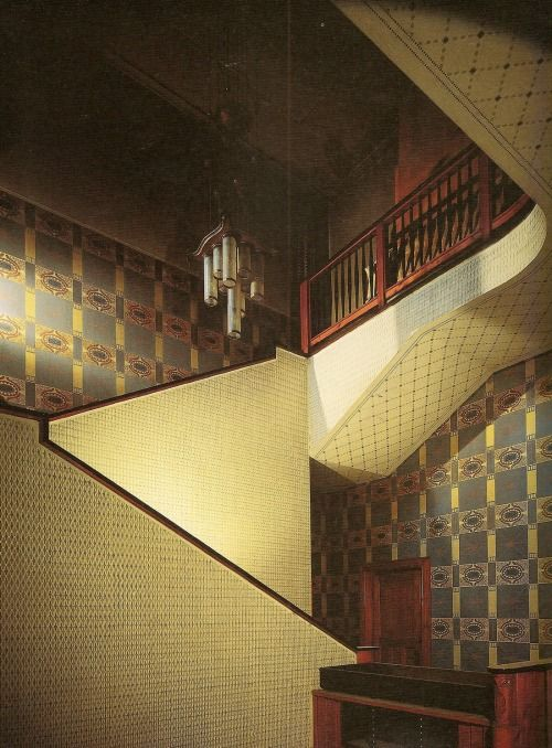 Laichter House, Prague, architect Jan Kotěra,30s photo by J.Maly