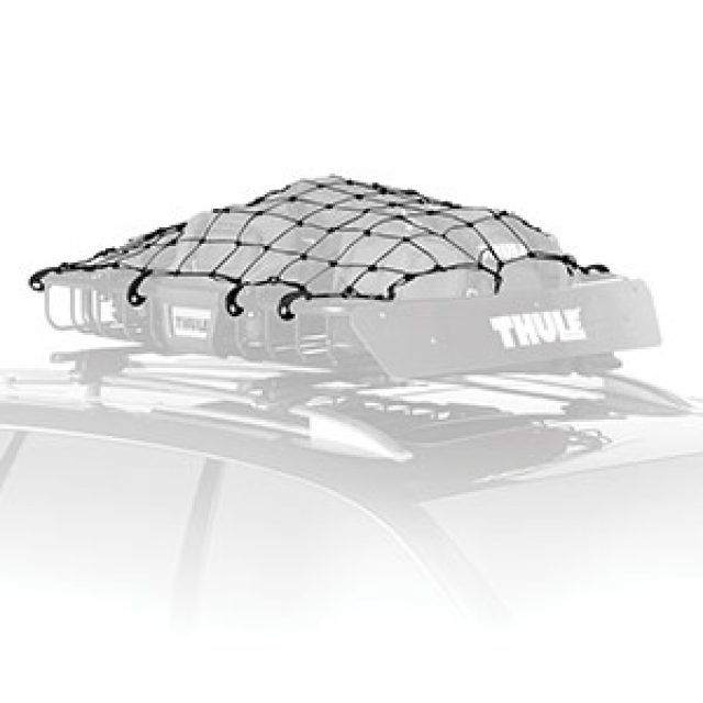 Roof Mounted Cargo Net In Black By Thule Associated Accessories Chevrolet Accessories Cargo Net Accessories Design