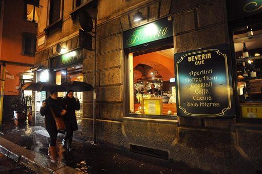 Milano: El Beverin bar ristorante Via Brera, 29