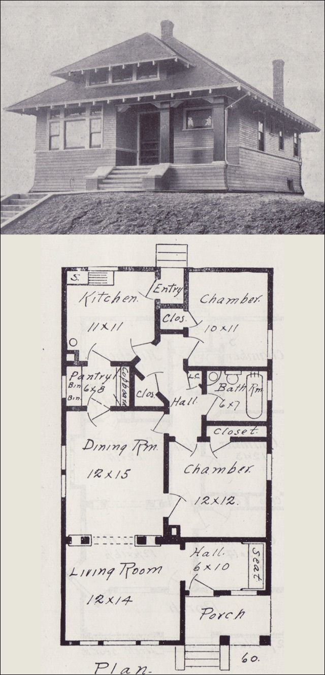 214 best vintage house plans 1900s images on pinterest for Early 1900s house plans