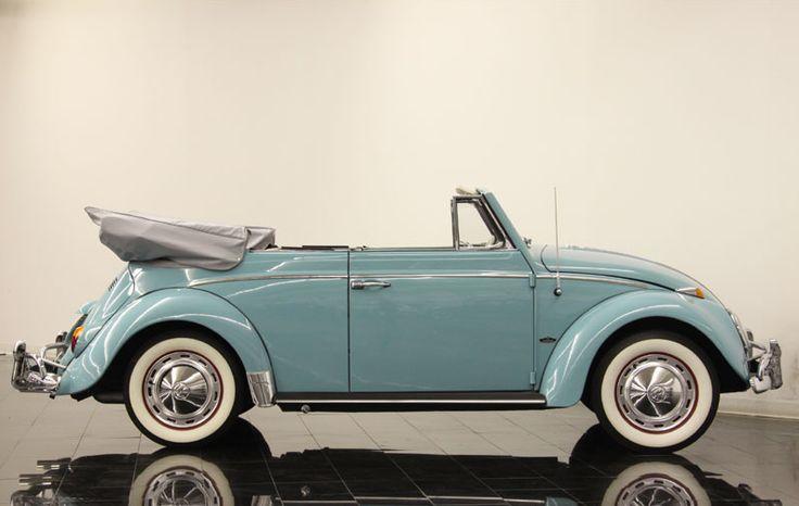 1963 Beetle convertible robin egg blue