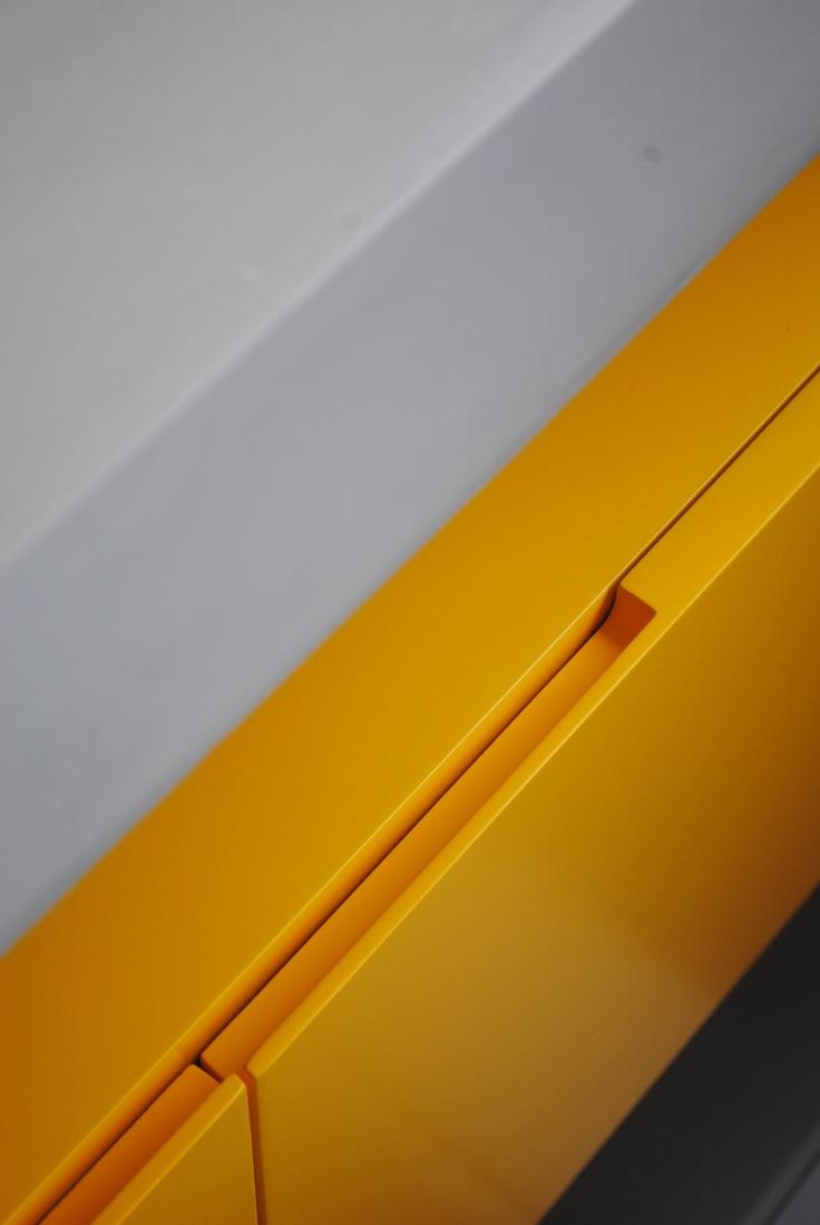 Yellow Furniture + Concrete (Ipanema, Rio de Janeiro)
