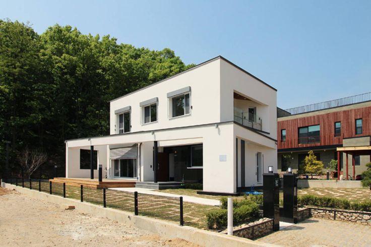 Ejemplo de una casa solar pasiva