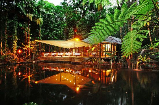 Julaymba Restaurant & Gallery in the Daintree, you just made my list!