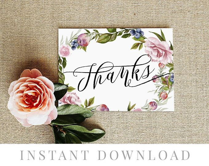 Editable pdf DIY Printable Decorations Printable Wedding Favor Card jungle themed Templett lion Thank You Card INSTANT DOWNLOAD