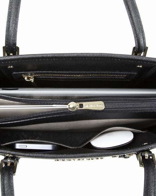 Michael Kors Jet Set Saffiano Ipad Reise Tote Schwarz 2 #Handbags#jewellery|#jewellerydesign}