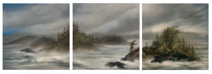 triptych 24 x 72
