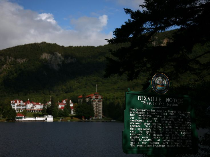 """The Next Step - Picture of the Day: 11/2/11 - """"Dixville Notch - """"First in the Nation"""""""