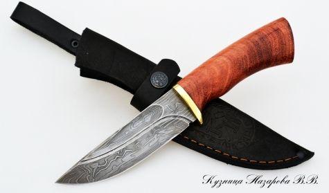 Нож из дамасской стали Гепард