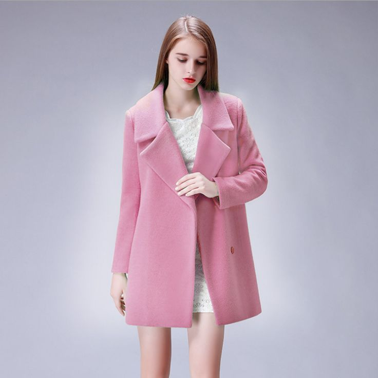 The 25  best Pink wool coat ideas on Pinterest | Light pink coat ...