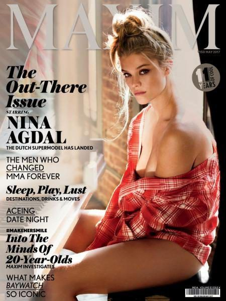bollywoodmirchitadka: Nina Adgal On The Cover of Maxim India Magazine Ma...