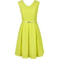 Suknia wizytowa Bogna żółta