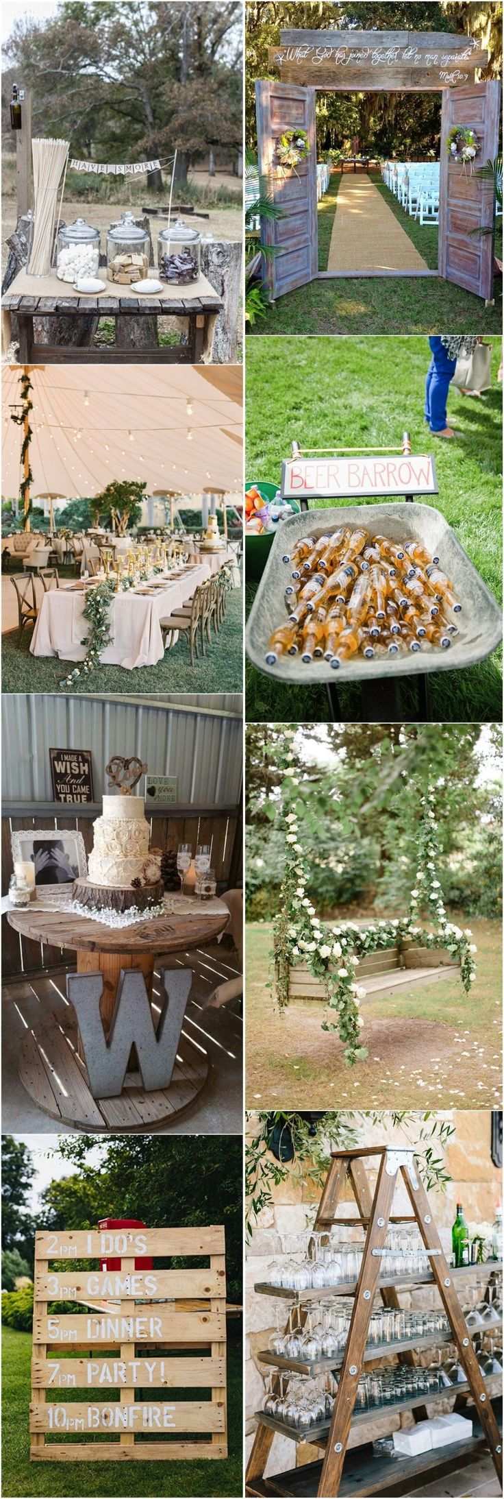 171 best country weddings images on pinterest colors for