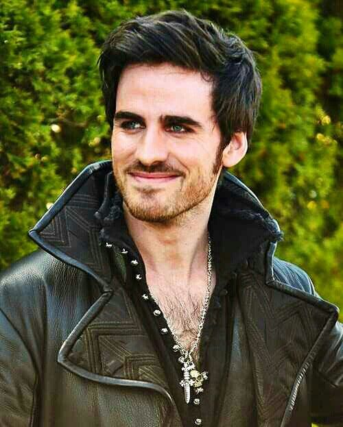 Once Upon A Time ~  Hook, he is, WOW.  I mean just look at him! He is... WOW!