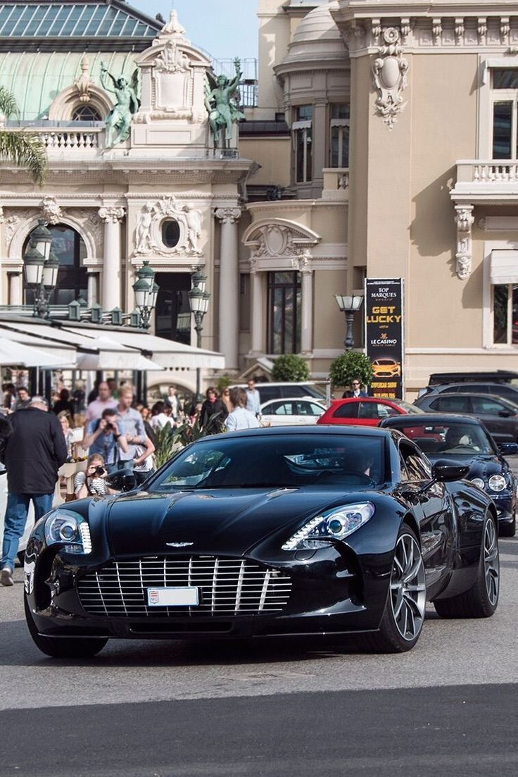 Aston Martin - deadly looking fast