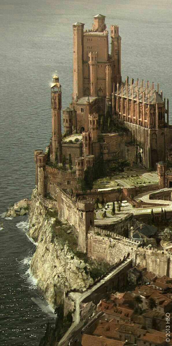 The Red Keep in King's Landing