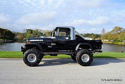1984 Jeep Scrambler for sale 100853106