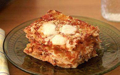 Barilla Wavy Lasagna with Italian Sausage