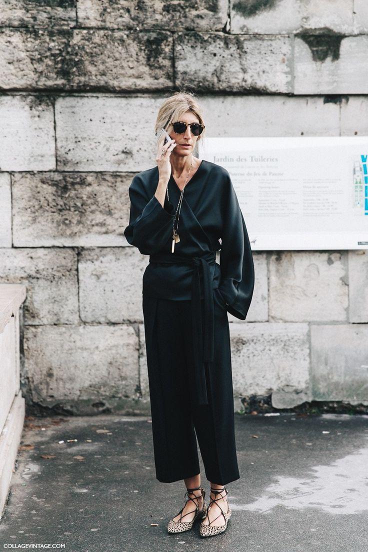 PFW-Paris_Fashion_Week-Spring_Summer_2016-StreetStyle. Black leopard Aquazzura flats | @sharmtoaster