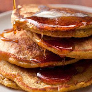 Spiced Pumpkin-Pecan Pancakes Recipe | Favorite Recipes & food ideas ...