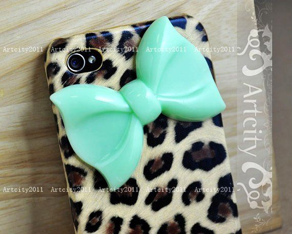 Check out LoveItSoMuch.com to discover unique products like Cute Leopard Bow Cute iPhone 4 Case for Girls.