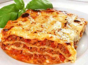 lasagne bolognaise Légère Weight Watchers, un délicieux plat complet de lasagne au boeuf haché une sauce bolognaise et une béchamel légère, facile à faire.