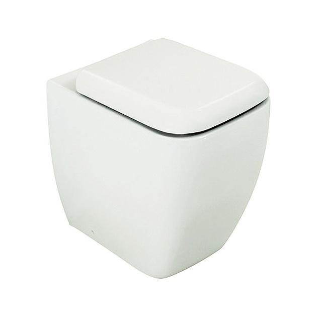 RAK Metropolitan Back to Wall Toilet with Toilet Seat