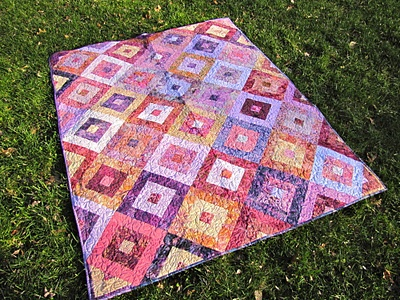 raspberry roll jelly roll quilt