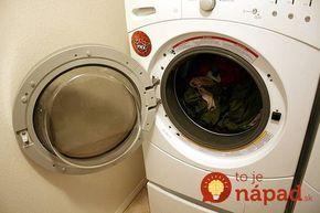 Ocot na čistenie práčky nemá ani spolovice také účinky ako tento zázrak: Pridávam do každého prania a s plesňami mám pokoj!