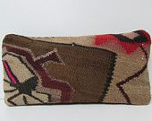 brown floor cushion decorative kilim pillow floral throw pillow modern pillow brown accent pillow brown throw pillow kilim pillow sham 17797