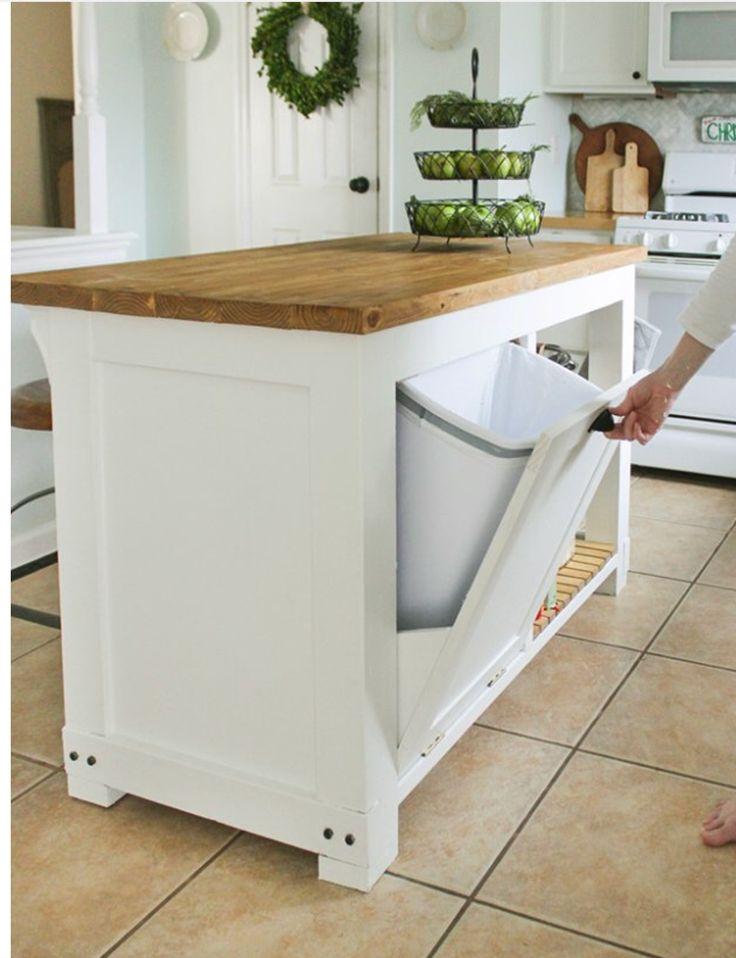 build movable kitchen island diy movable kitchen