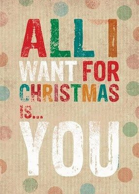 """""""All I Want For Christmas Is You,"""" Mariah Carey"""