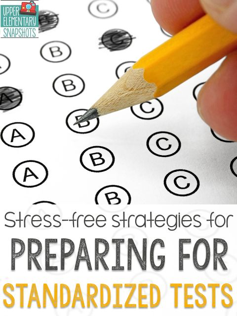 Test prep can be stressful, but it doesn't have to be!  Read my favorite test prep ideas for test taking strategies and getting students ready for standardized tests. Grab the free test taking strategies rap! (It's adorable)