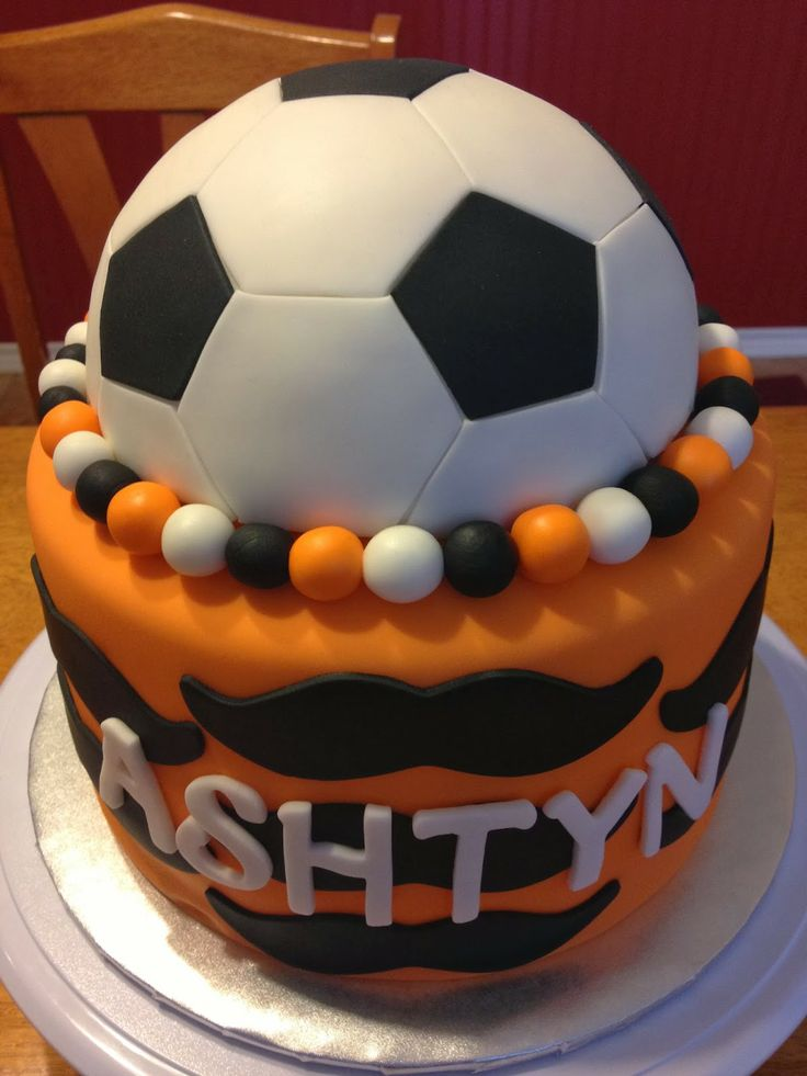 Cake With Ball Design : 17+ best images about Soccer ball cake and cupcakes on ...