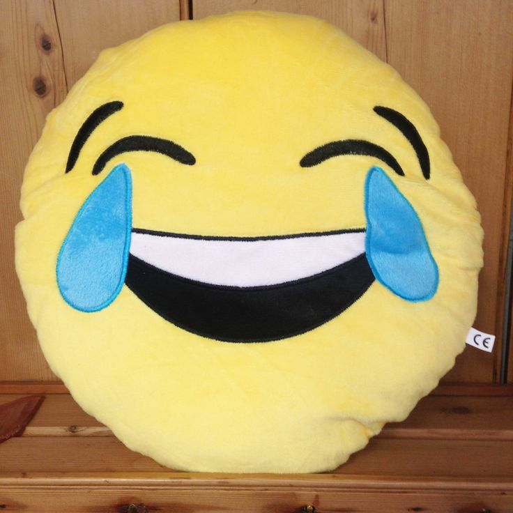 Crying With Laughter Emoji Cushion - yourgifthouse