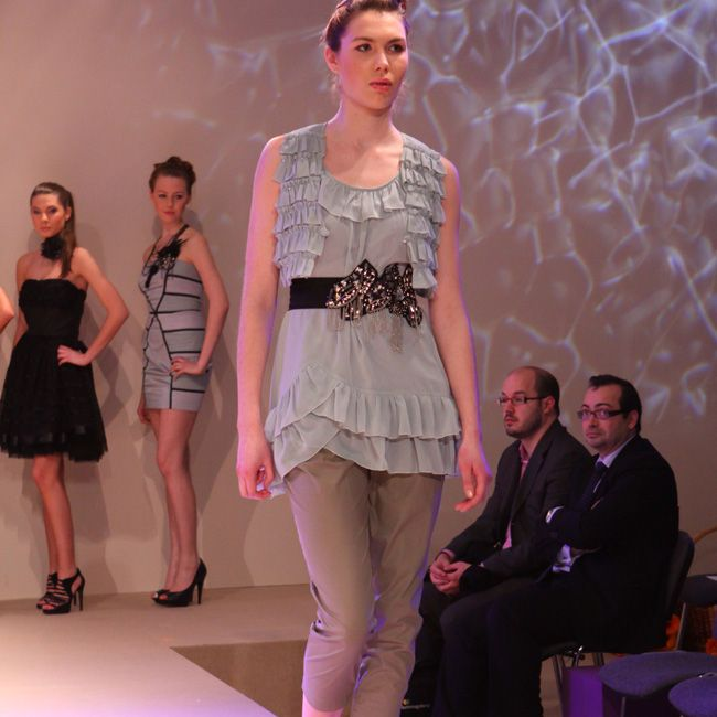 Desperado London dress on Poznan fair 2009 #DesperadoLondon #Fashion #bestdresses