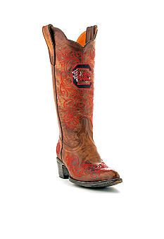 LOVE!!! USC Gamecock Gameday Boots  Maybe one day I'll break down and spend the money for these bad boys