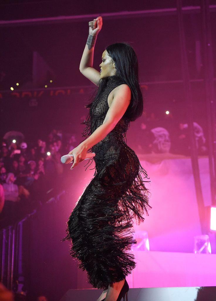 Everyone Was at Rihanna's Anti World Tour at Barclays - -Wmag